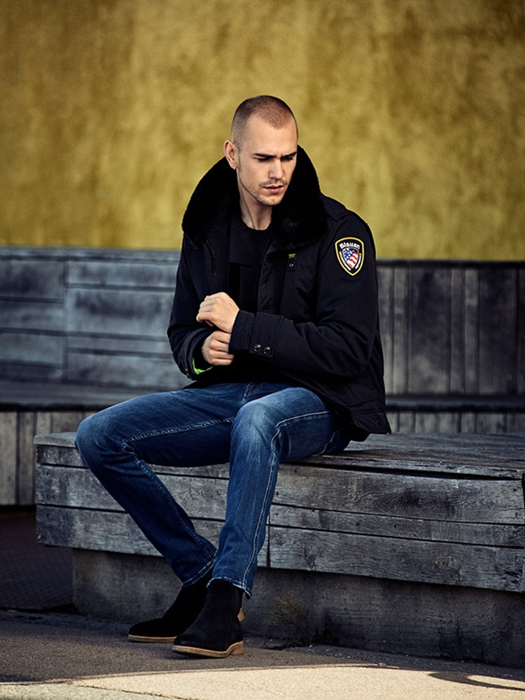 Police Taslan jakke /